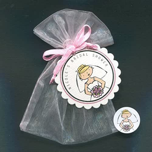Bunny With Bottle And Ball Baby Shower Favor Topper Labels And Bags