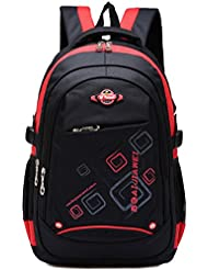 Waterproof Backpack for Middle School Cool Bookbag Travel Outdoor Sports