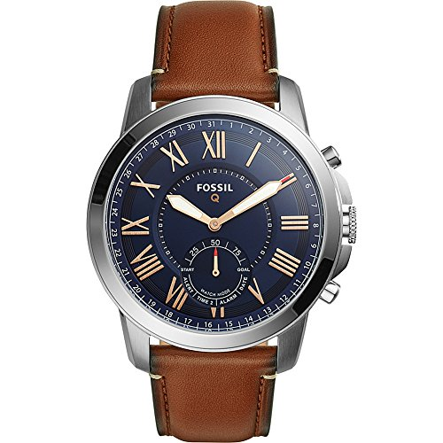Fossil Q Grant Leather Hybrid Smartwatch