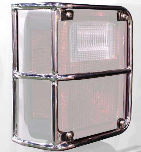 Rampage 88460 Stainless TailLight Guards