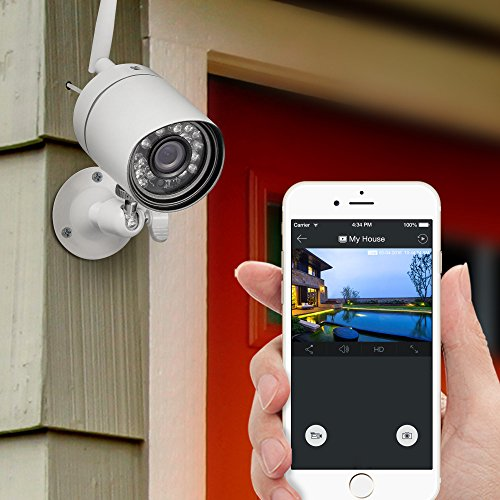 Funlux 720p hd outdoor wireless home security camera - Best wireless exterior security camera ...
