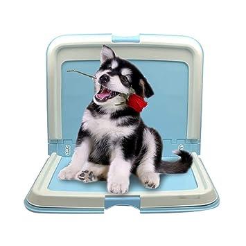 FHKL Inodoro Portátil para Cachorros Mascotas con Inodoro Plegable ...