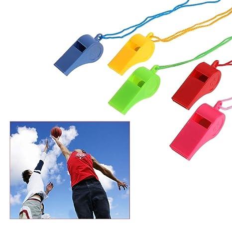 Rope Stainless Steel Whistles Cheerleaders Metal Whistle Cheerleading Tool