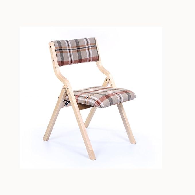 Amazon.com: yxwyz mesas plegables silla hogar moderno ...
