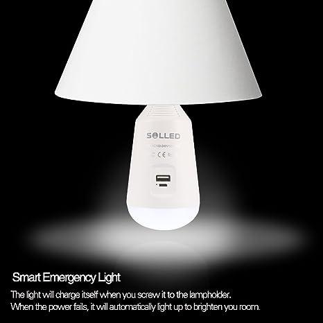 Multi Fuctional batería bombilla LED farol de camping tienda de campaña Luz de emergencia al aire