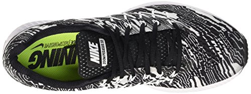 Nike Air Zoom Pegasus 32 Print, Zapatillas de Running para Hombre, Turquesa, 40 EU Negro / Blanco (Black/White)
