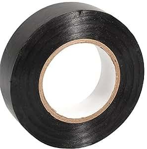 Select Sock Tape - Pack Of 10 Rolls 19mm Width X 20M Length, Black, 19mm width x 20m length