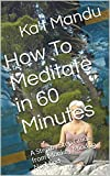 How To Meditate in 60 Minutes: A Step by Step Guide from Monkey Mind to No-Mind (Pockets of Enlightenment Book 2)