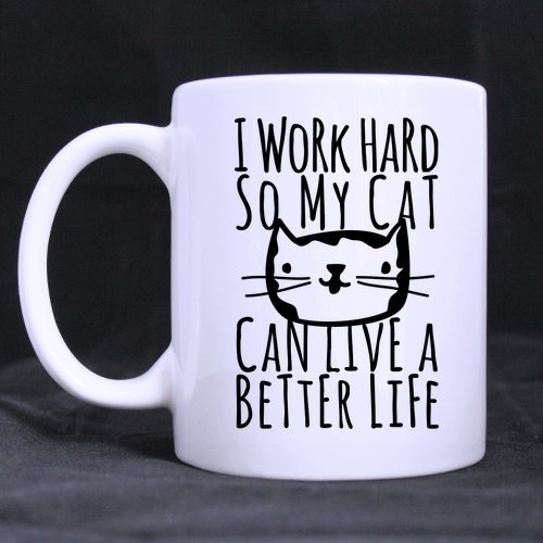 funny cat mug gift for cat lover