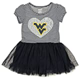 Outerstuff NCAA Girl's Toddlers Celebration Tutu, West Virginia Mountaineers Small (4)