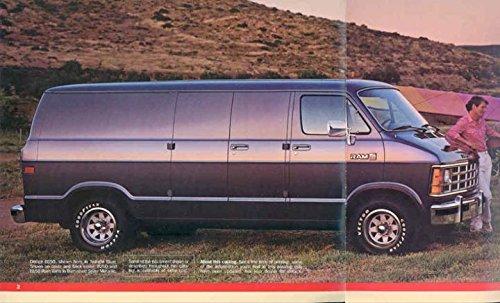 Amazon com: 1988 Dodge B150 B250 B350 Ram Van Truck Brochure