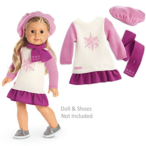 "Price comparison product image American Girl Snow Good to See You Outfit for 18"" Dolls"