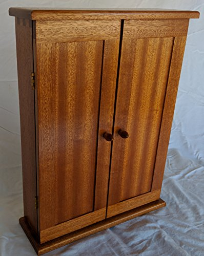 Jewelry Cabinet made from Sapele by Steven Ashly Designs