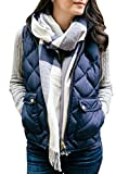 Fixmatti Women¡¯s Outwear Ultra Lightweight Packable Puffer Down Vest Coat S