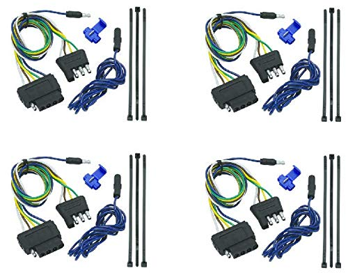 Tow Ready 20136 4-Flat To 5-Flat Connector Assembly