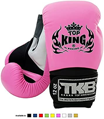 Super Star Empower Creativity Training Sparring Boxing gloves for Muay Thai MMA K1 Ultimate Design: Air Top King Muay Thai Boxing Gloves Size: 8 10 12 14 16 oz Color: Black White Red Green Blue Pink Yellow Gold Silver
