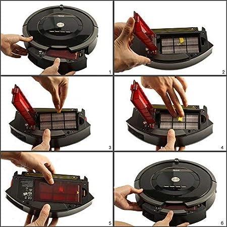 GHM Replacement iRobot Roomba 500 Series HEPA Replenishment Kit Compatible with iRobot Roomba 560 580 540 510 530,595 535 610
