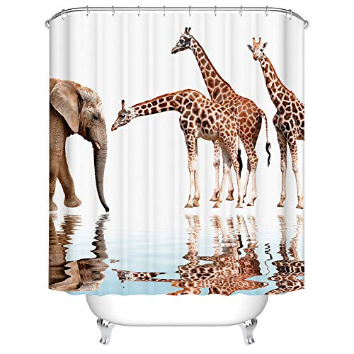 Giraffe and Elephant Design
