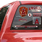 MLB Los Angeles Angels of Anaheim 11'' x 17'' Window Clings Sheet