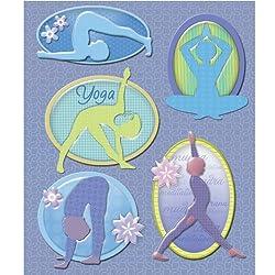 K&company Yoga Sticker Medley