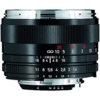 Zeiss 50mm f/1.4 Planar T ZF.2 Series Manual Focus Lens for the Nikon F (AI-S) Bayonet SLR System