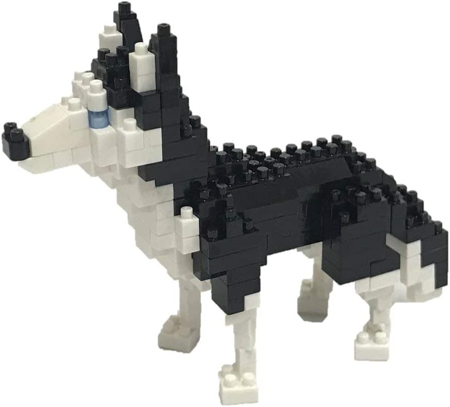 NBC-264 Dog Breed Siberian Husky nanoblock