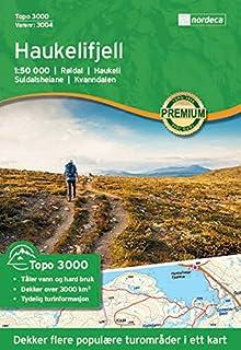Carte de randonnée Norvège   Haukelifjell Topo 30001: 50000 Nordeca
