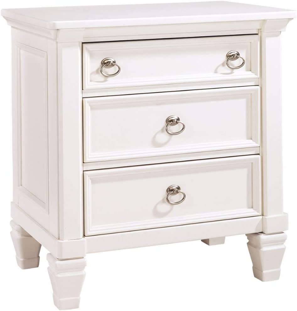 Signature Design by Ashley Prentice Nightstand, White -