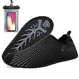 Bopika Barefoot Shoes Water Shoes Quick-Dry Aqua Shoes for Women Men (EU44 (10 Men))