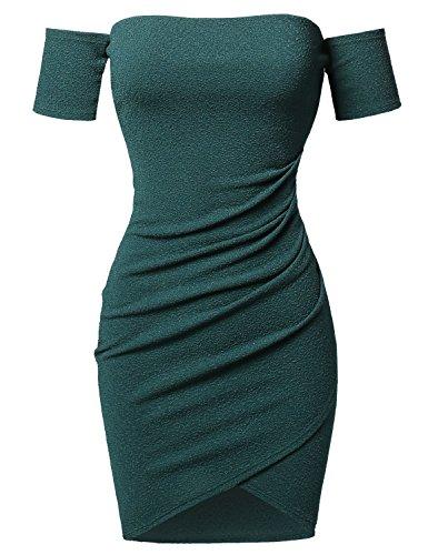 Asymmetrical Mini Dress - 6