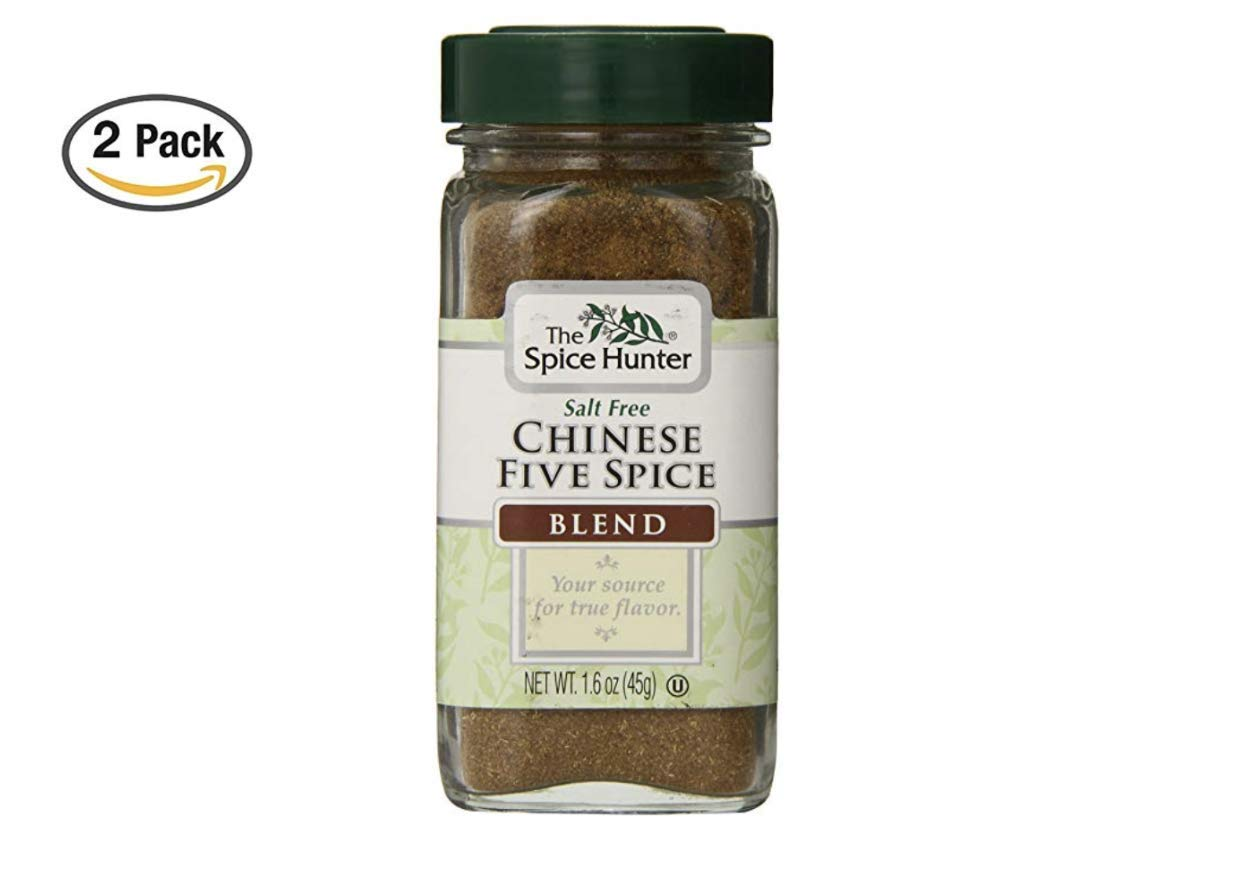 The Spice Hunter Chinese Five Spice Blend, 1.6-Ounce Jar (2 Pack)