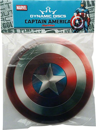 Dynamic Discs Captain America Golf Disc: Fairway Driver by Dynamic Discs