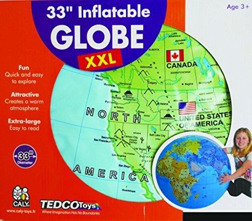Extra Extra Large Inflatable Globe - 33