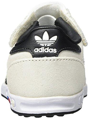 adidas la Trainer, Zapatillas de Running Unisex Niños Blanco (Vintage White/core Black/clear Brown)