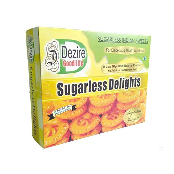 Dezire LG Natural Sugar Free Jangiri Gift Pack