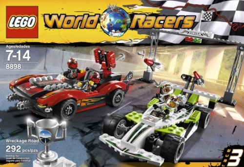 Amazon.com: LEGO World Racers Wreckage Road 8898: Toys & Games