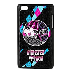 Customiz Cartoon Game Monster High Back Case for ipod Touch 4 JNIPOD4-1399