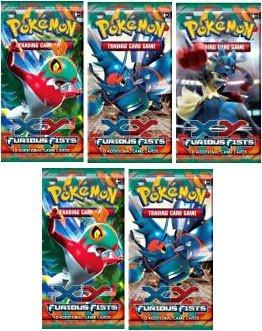 Pokemon - Juego de Cartas coleccionables Pokemon XY Furious ...