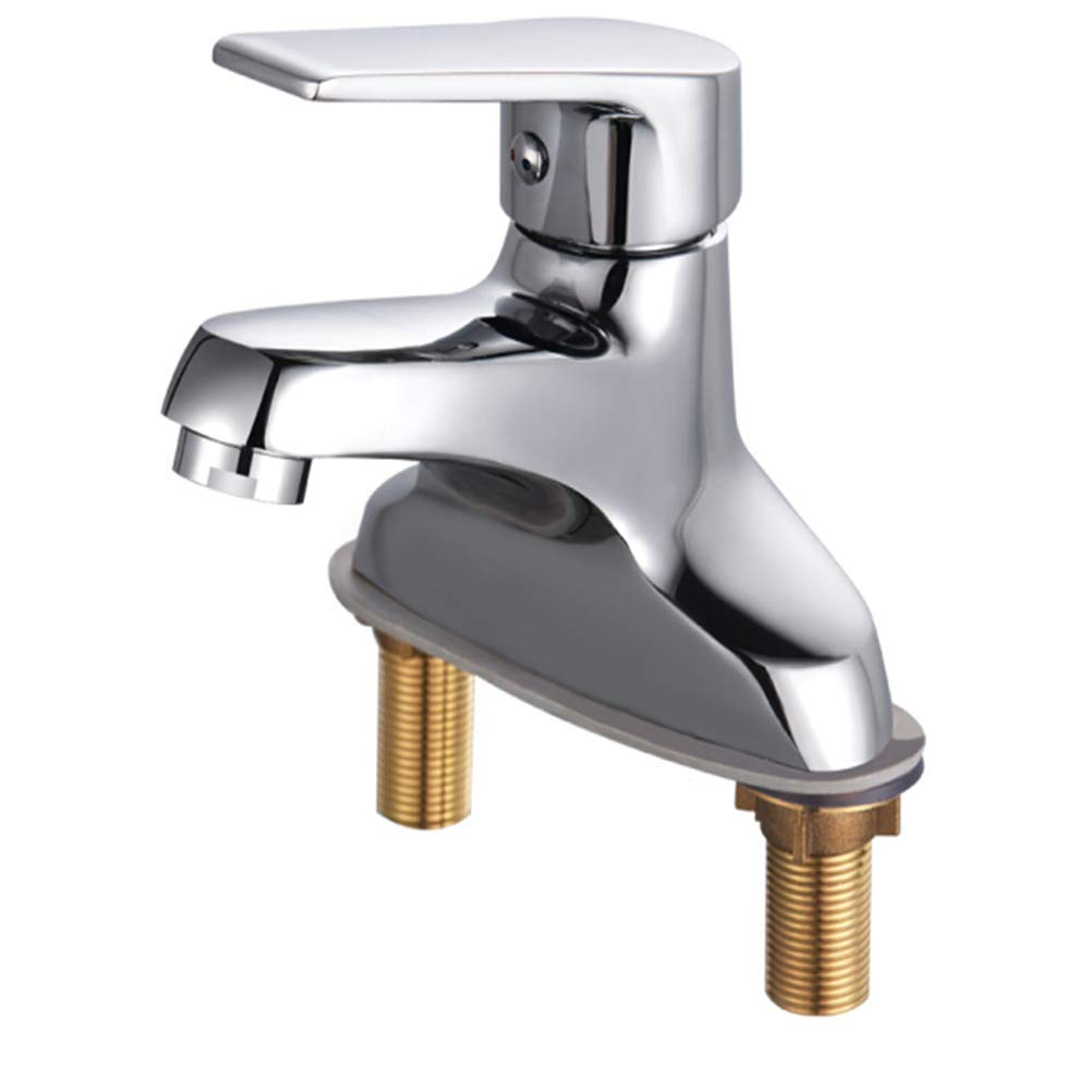 Kitchen Taps Faucet Modern Kitchen Sink Taps Stainless Steelcopper Main Body Cold and Hot Basin Faucet Single Double Hole Washbasin Faucet