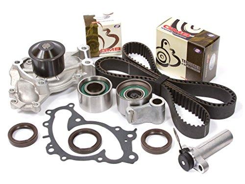 Evergreen TBK257HWPT Fits 95-04 Lexus ES300 Toyota Solara Camry 1MZFE Timing Belt Kit Water Pump