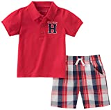 Tommy Hilfiger Baby Boys 2 Pieces Creeper Polo