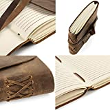 Leather Journal in Gift Box with Pen and Page