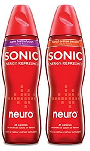 Price comparison product image Neuro Sonic Variety Pack - Neuro Sonic Blood Orange and Neuro Sonic Super Fruit Infusion - 12 Pack