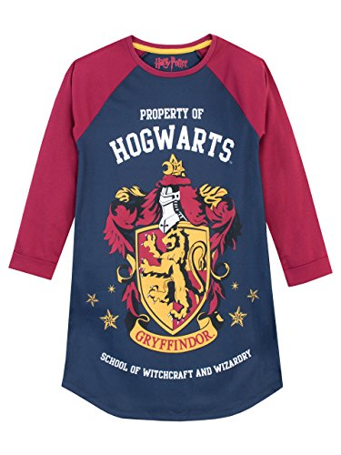 - Harry Potter Girls' Gryffindor Nightdress Size 14 Multicolored
