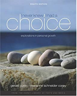 Amazon i never knew i had a choice explorations in personal i never knew i had a choice explorations in personal growth with infotrac fandeluxe Gallery