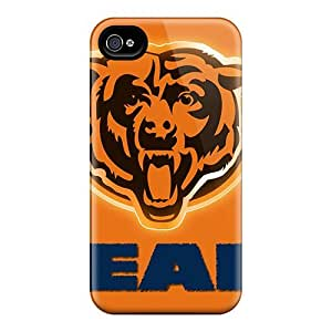 Waterdrop Snap-on Chicago Bears Case For Iphone 4/4s