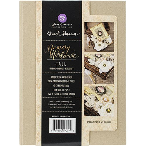 Prima Marketing 990572 Mixed Media Drawings, 7.5''X5.5'' by Prima Marketing