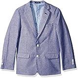 IZOD Big Boys' Blazer Suit Jacket, Dark Blue, 12