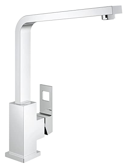 GROHE Miscelatore Cucina Eurocube, Cromo, 31255000: N: Amazon.it ...