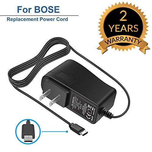 - for Bose SoundLink Color Mini 2 II Revolve Wall Charger Micro Plus Adapter Power Cord for 627840 725192 Bluetooth Portable Speaker QuietComfort 35 Headphones II AE2W 6.6Ft
